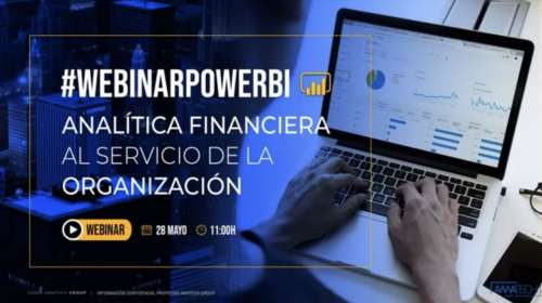 Analítica financiera con Power BI. Intro y demo. [Video50 mnts.] - Publicamos grabación de webinar realizado el 28/05/2020 por Alberto Sanjuán, de Amatech Group, sobre el uso de Microsoft Power BI para analítica financiera.